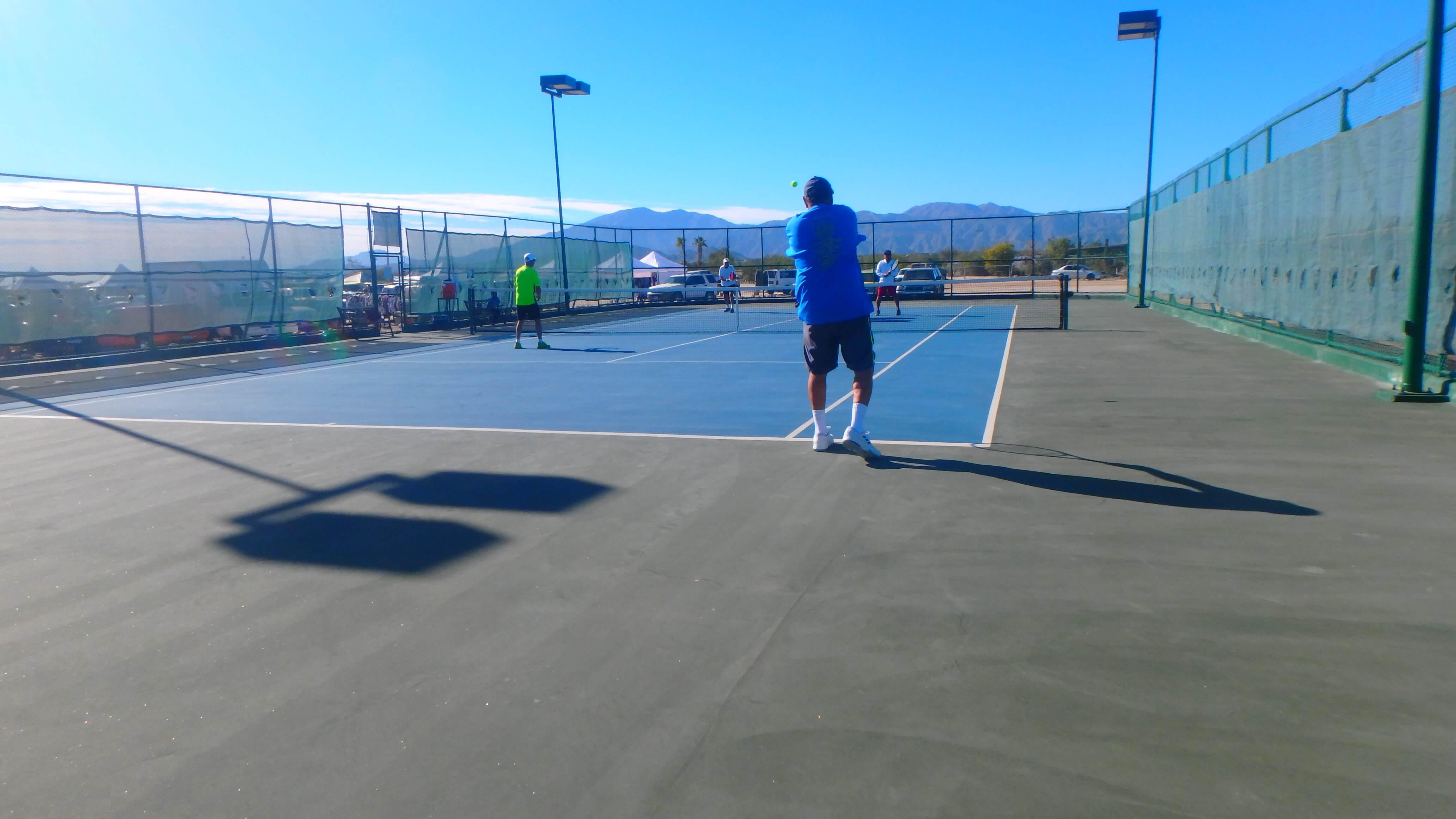 Tenis Court La Ventana del Mar